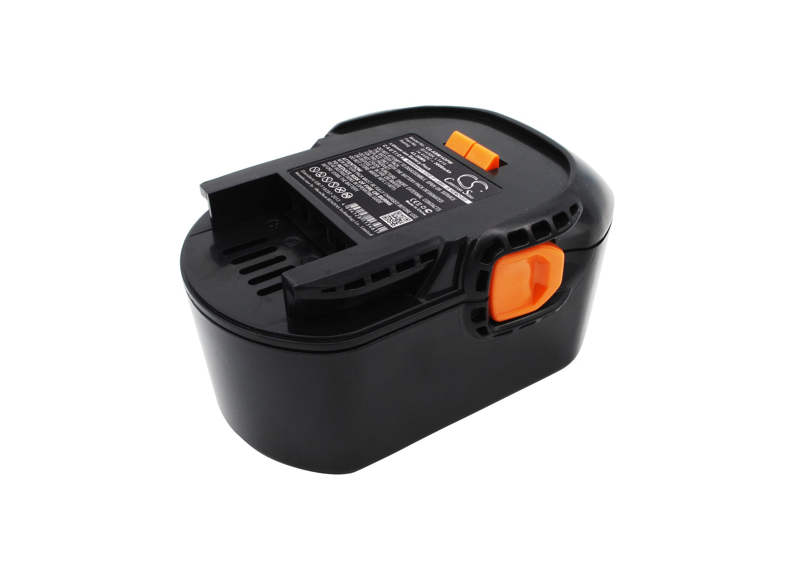 Cameron Sino baterie do nářadí pro AEG BBM 14 STX-R 14.4V Li-ion 3000mAh černá - neoriginální