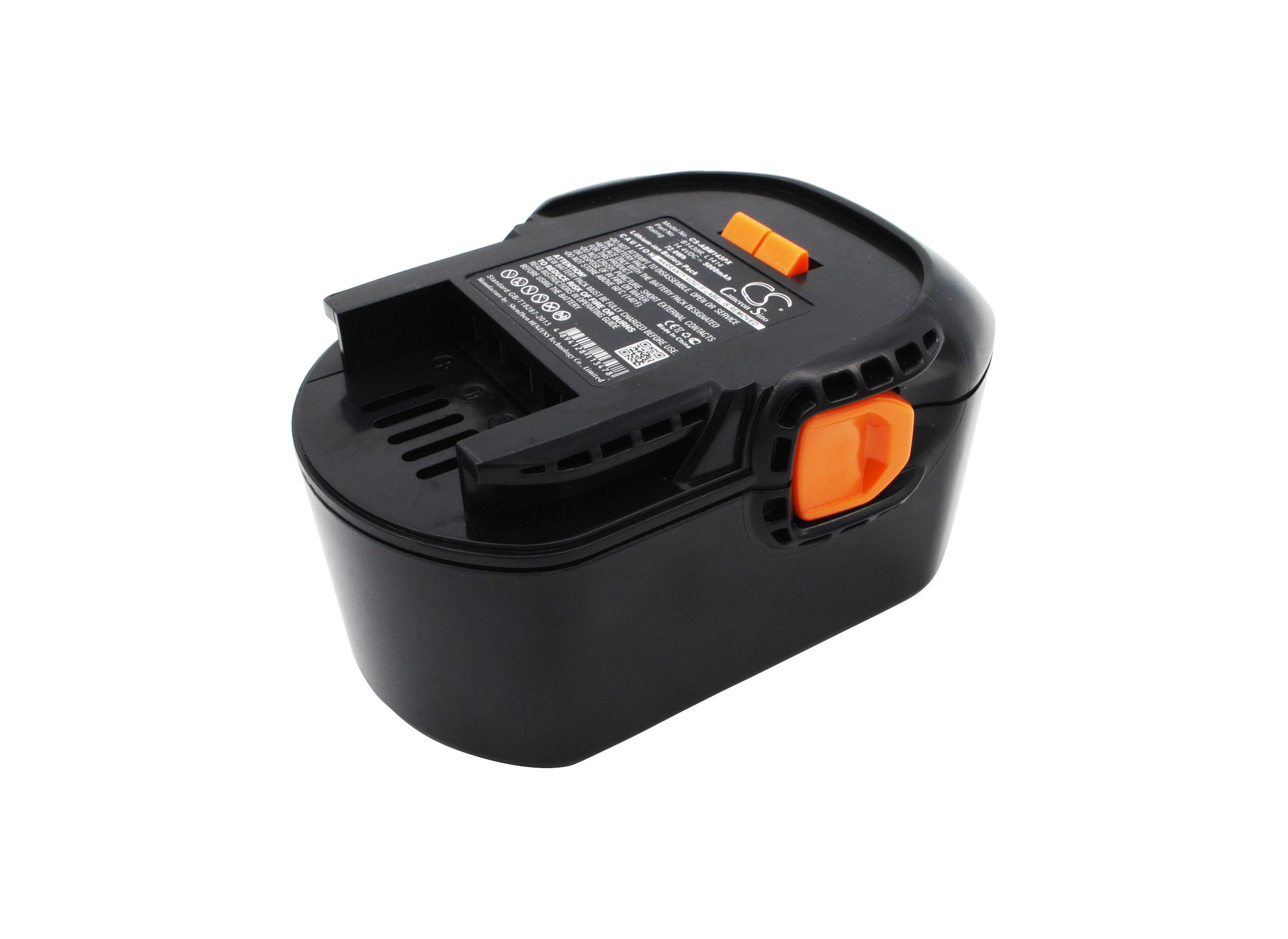 Cameron Sino baterie do nářadí pro AEG BBM 14 STX-R 14.4V Li-ion 5000mAh černá - neoriginální