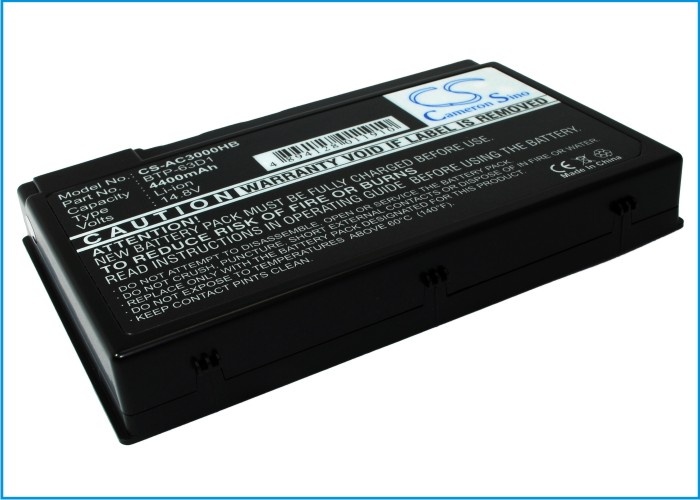 Cameron Sino baterie do notebooků pro ACER Aspire 3020 14.8V Li-ion 4400mAh šedá - neoriginální