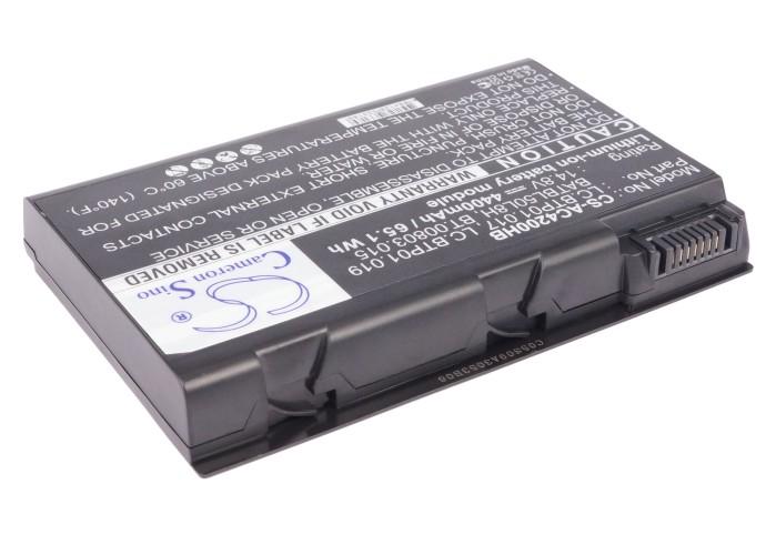 Cameron Sino baterie do notebooků pro ACER TravelMate 2490 14.8V Li-ion 4400mAh černá - neoriginální