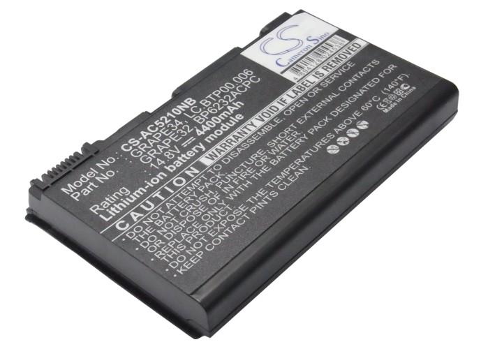 Cameron Sino baterie do notebooků pro ACER Extensa 5210 14.8V Li-ion 4400mAh černá - neoriginální