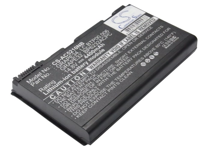 Cameron Sino baterie do notebooků pro ACER TravelMate 7720-602G25N 14.8V Li-ion 4400mAh černá - neoriginální