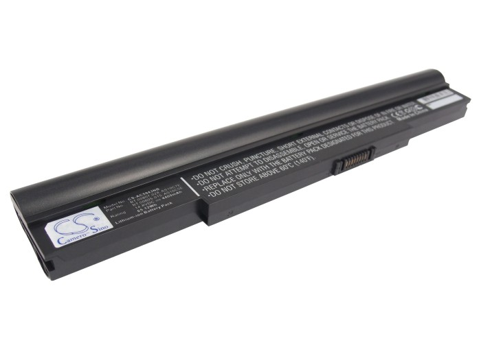 Cameron Sino baterie do notebooků pro ACER Aspire AS8943G-724G64Bn 14.8V Li-ion 4400mAh černá - neoriginální