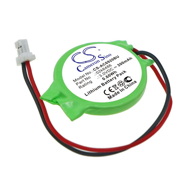 Cameron Sino baterie cmos pro ACER Aspire 8920 3V Li-ion 200mAh zelená - neoriginální