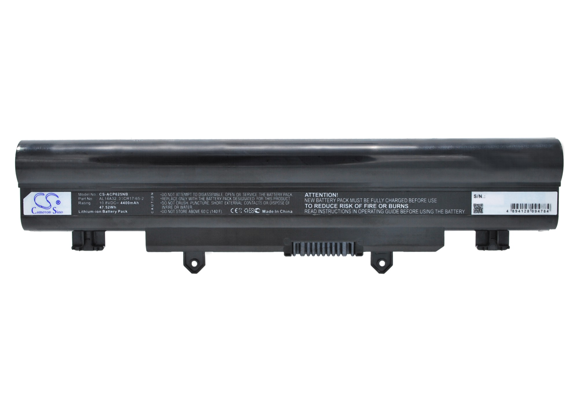 Cameron Sino baterie do notebooků pro ACER Aspire V3-472 10.8V Li-ion 4400mAh černá - neoriginální
