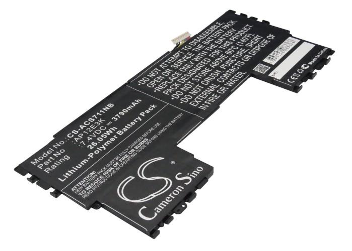 Cameron Sino baterie do notebooků pro ACER Aspire S7 Ultrabook IPS 7.4V Li-Polymer 3790mAh černá - neoriginální