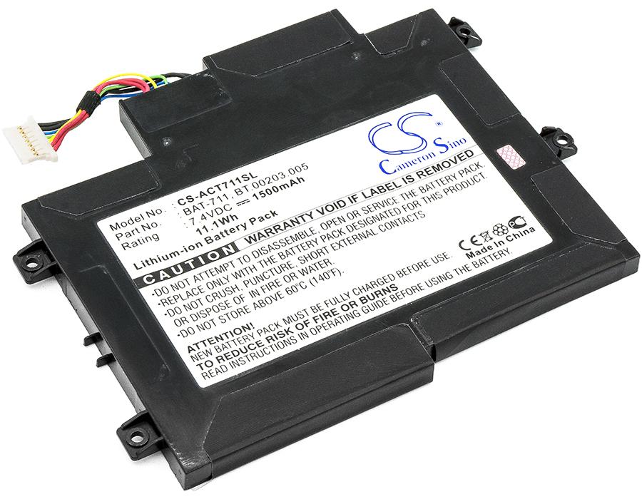Cameron Sino baterie do tabletů pro ACER Iconia Tab A100 7.4V Li-ion 1500mAh černá - neoriginální