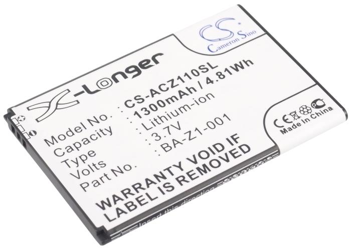 Cameron Sino baterie do mobilů pro ACER Liquid Z2 Duo 3.7V Li-ion 1300mAh černá - neoriginální