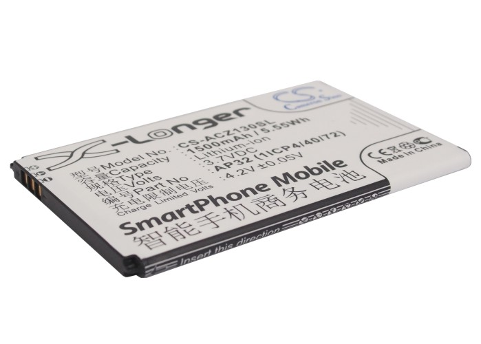 Cameron Sino baterie do mobilů pro ACER Liquid Z3 3.7V Li-ion 1500mAh černá - neoriginální