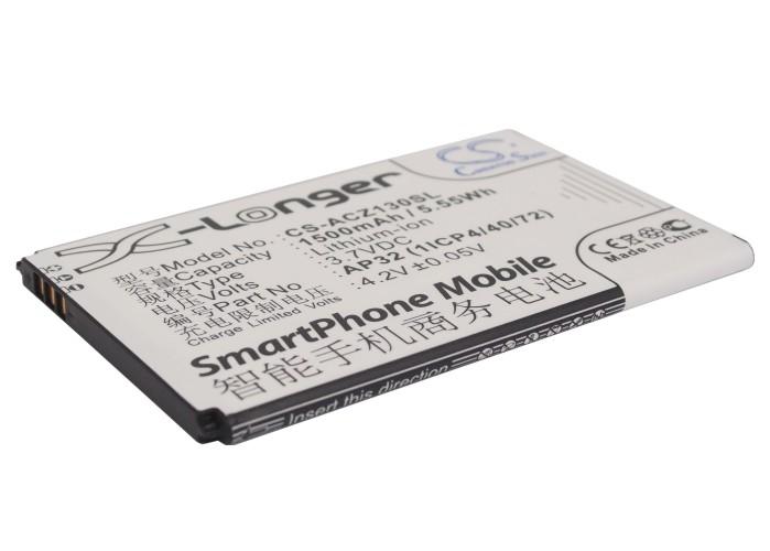 Cameron Sino baterie do mobilů pro ACER Liquid Z3 Dual SIM 3.7V Li-ion 1500mAh černá - neoriginální