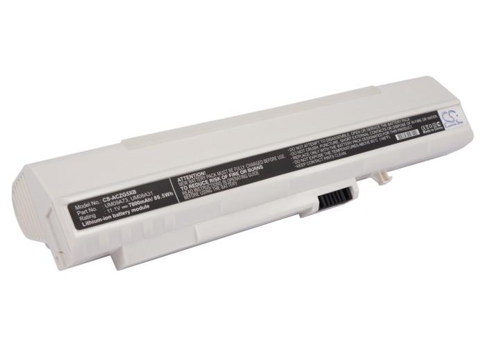 Cameron Sino baterie do notebooků pro ACER Aspire One 571 11.1V Li-ion 7800mAh bílá - neoriginální