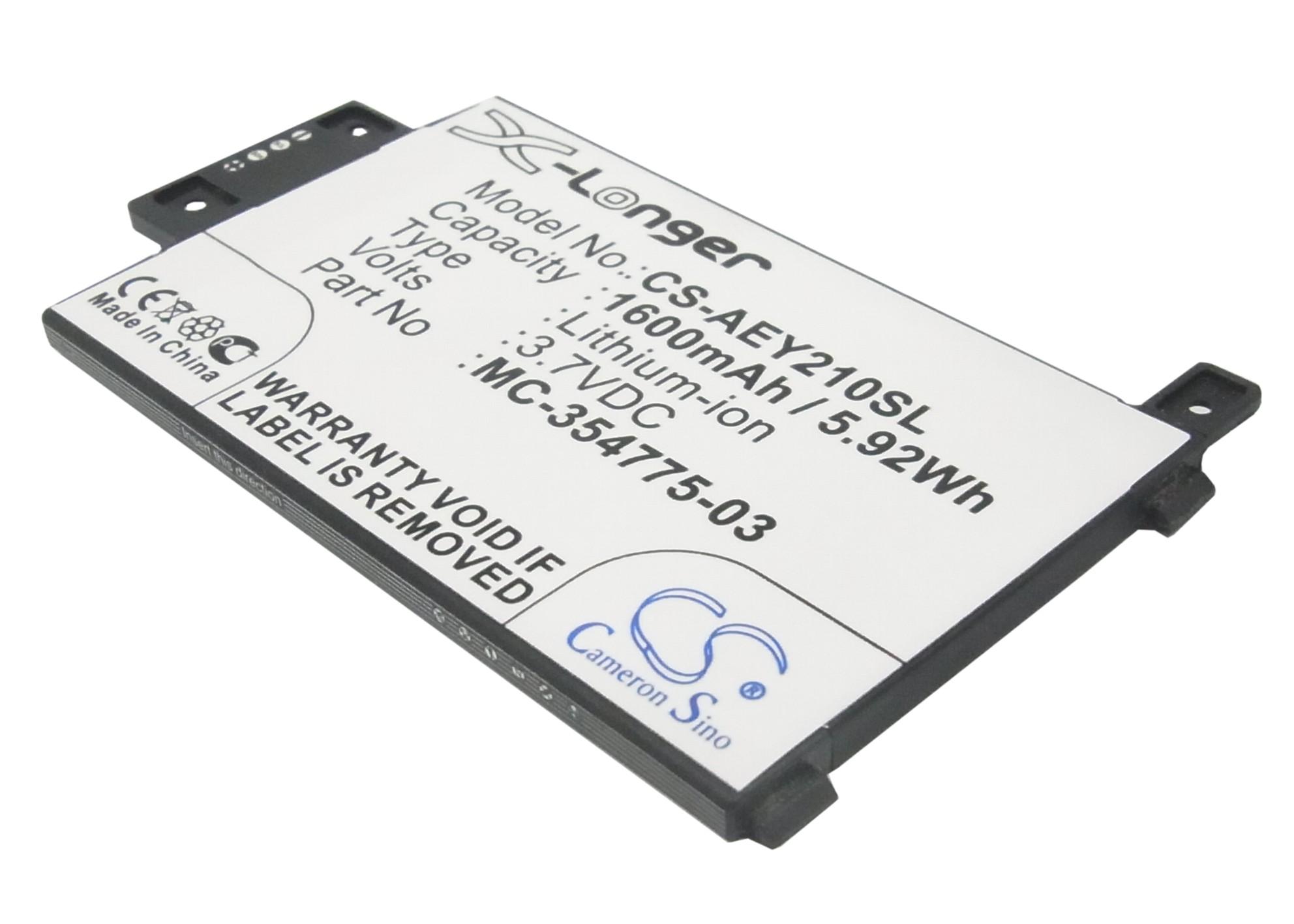 """Cameron Sino baterie do elektronických čteček knih pro AMAZON Kindle Touch 3G 6"""" 2014 Version 3.7V Li-ion 1600mAh černá - neoriginální"""