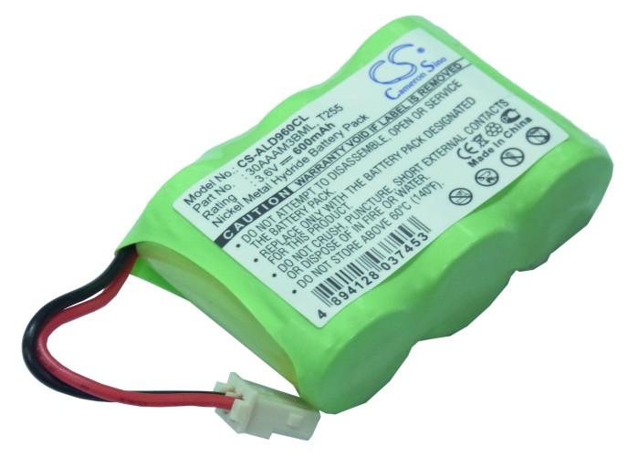 Cameron Sino baterie do bezdrátových telefonů pro AUDIOLINE CLA 120 3.6V Ni-MH 600mAh zelená - neoriginální