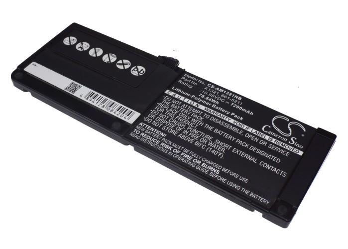 """Cameron Sino baterie do notebooků pro APPLE MacBook Pro 15.4"""""""" 3.06GHz Core 2 Duo 10.95V Li-Polymer 7200mAh černá - neoriginální"""