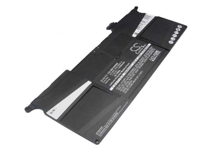 """Cameron Sino baterie do notebooků pro APPLE Macbook Air 11.6"""" MD712 7.6V Li-Polymer 5100mAh černá - neoriginální"""
