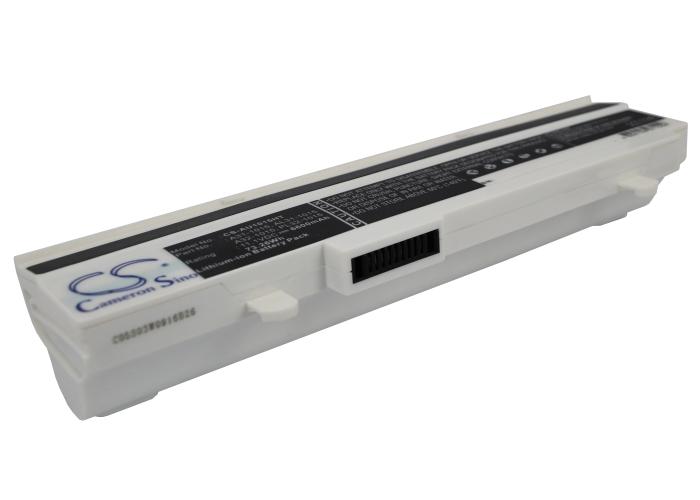 Cameron Sino baterie do notebooků pro ASUS Eee PC 1215n pu17 11.1V Li-ion 6600mAh bílá - neoriginální