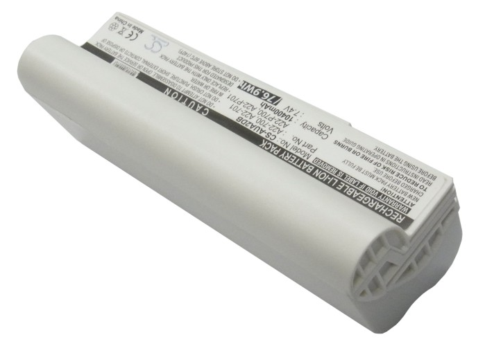 Cameron Sino baterie do notebooků pro ASUS Eee PC 2G Linux 7.4V Li-ion 10400mAh bílá - neoriginální