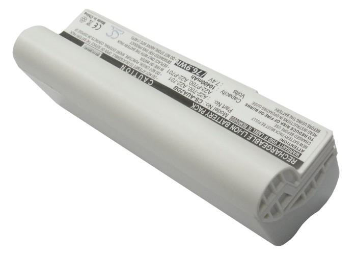 Cameron Sino baterie do notebooků pro ASUS Eee PC 701 7.4V Li-ion 10400mAh bílá - neoriginální