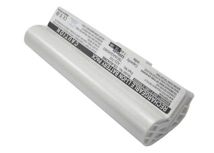 Cameron Sino baterie do notebooků pro ASUS Eee PC 701 7.4V Li-ion 5200mAh bílá - neoriginální