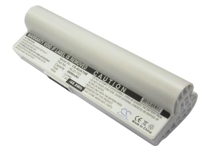 Cameron Sino baterie do notebooků pro ASUS Eee PC 900a 7.4V Li-ion 6600mAh bílá - neoriginální