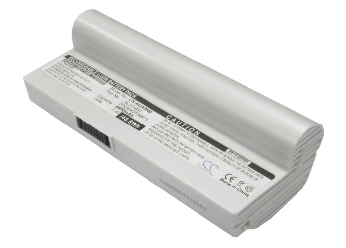 Cameron Sino baterie do notebooků pro ASUS Eee PC 1000HE 7.4V Li-ion 6600mAh bílá - neoriginální