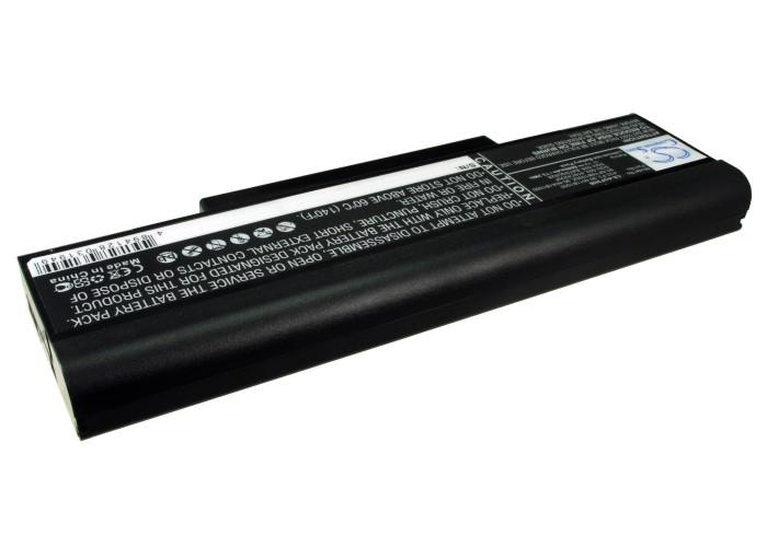 Cameron Sino baterie do notebooků pro MSI VX600 11.1V Li-ion 6600mAh černá - neoriginální