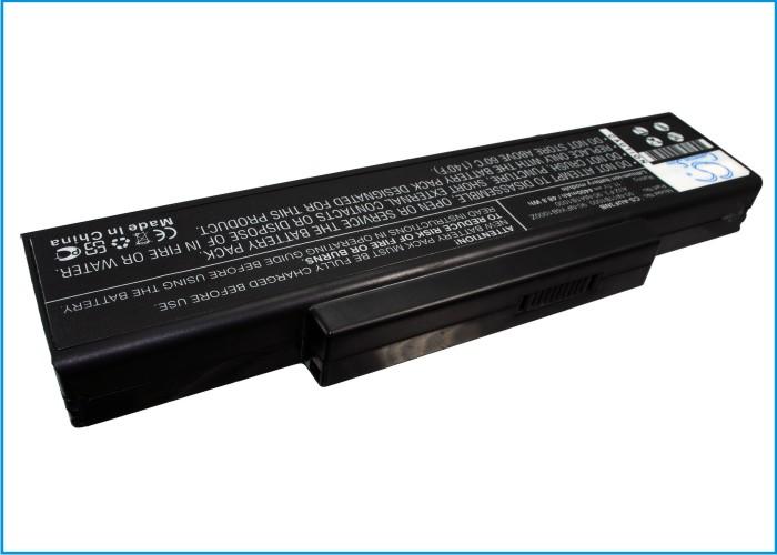 Cameron Sino baterie do notebooků pro MSI VX600 11.1V Li-ion 4400mAh černá - neoriginální