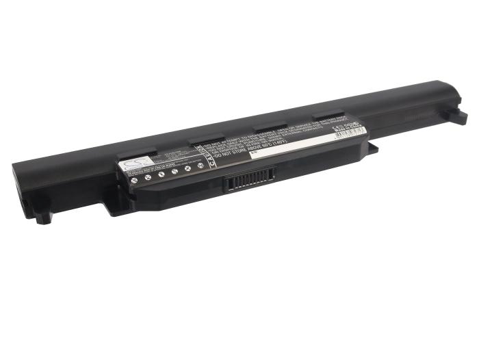 Cameron Sino baterie do notebooků pro ASUS K55VD 10.8V Li-ion 4400mAh černá - neoriginální