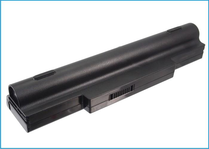 Cameron Sino baterie do notebooků pro ASUS K72JT 11.1V Li-ion 6600mAh černá - neoriginální