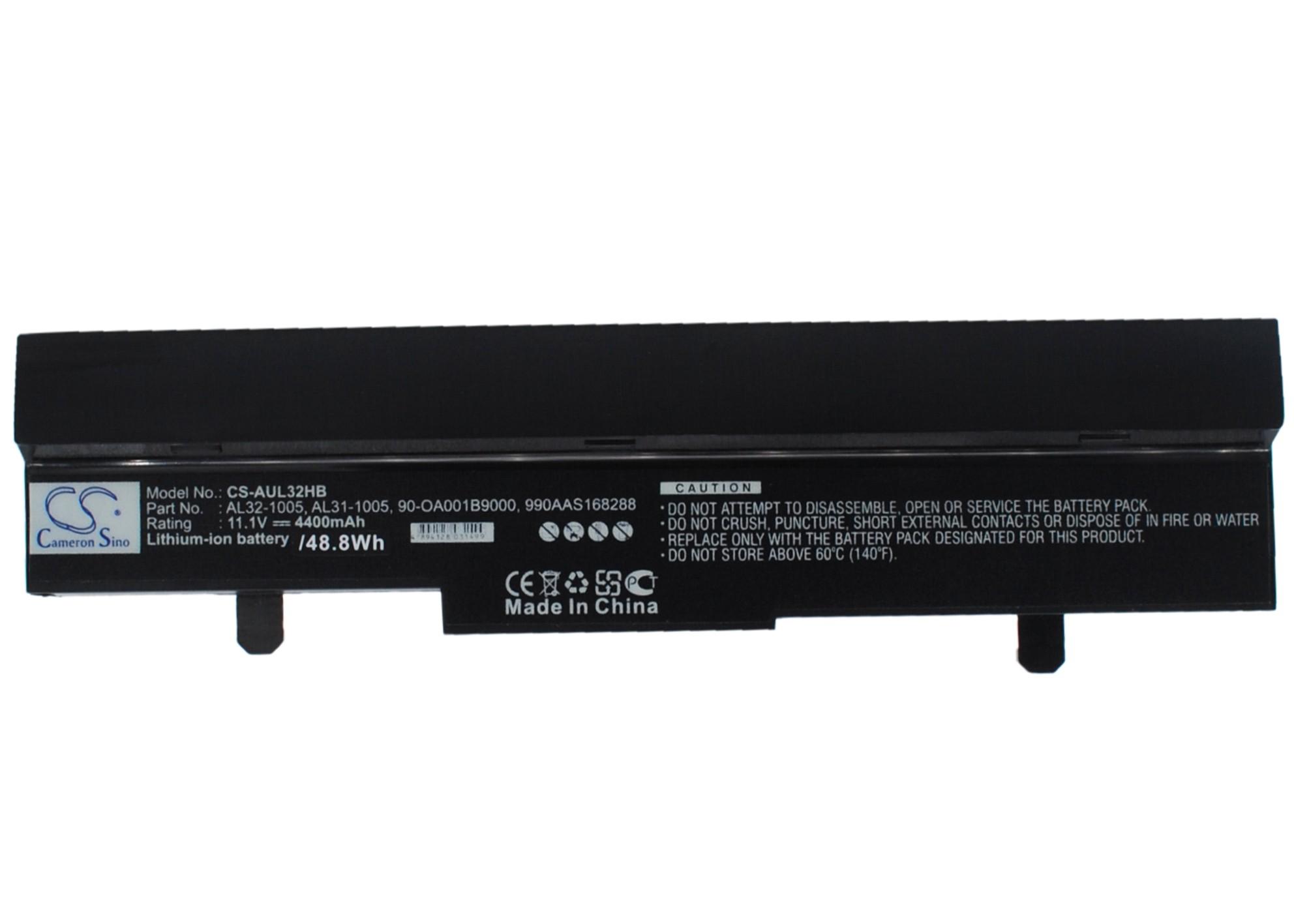 Cameron Sino baterie do netbooků pro ASUS Eee PC 1005PE-P 10.8V Li-ion 4400mAh černá - neoriginální
