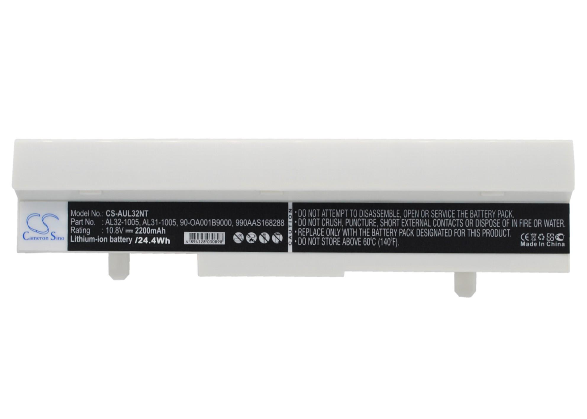 Cameron Sino baterie do netbooků pro ASUS Eee PC 1005PE-P 10.8V Li-ion 2200mAh bílá - neoriginální