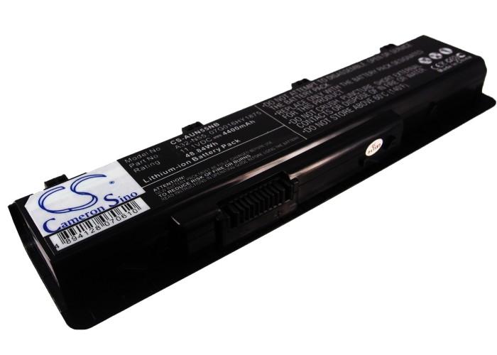 Cameron Sino baterie do notebooků pro ASUS N75SL 11.1V Li-ion 4400mAh černá - neoriginální
