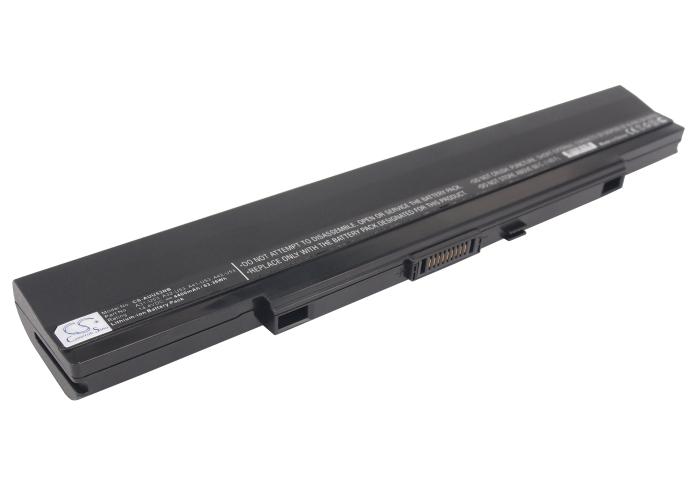 Cameron Sino baterie do notebooků pro ASUS U43JC-WX139V 14.4V Li-ion 4400mAh černá - neoriginální
