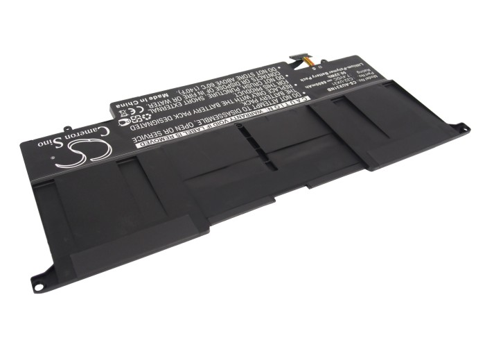 Cameron Sino baterie do notebooků pro ASUS ZenBook UX31E 7.4V Li-Polymer 6800mAh černá - neoriginální
