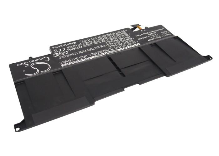 Cameron Sino baterie do notebooků pro ASUS Zenbook UX31A 7.4V Li-Polymer 6800mAh černá - neoriginální