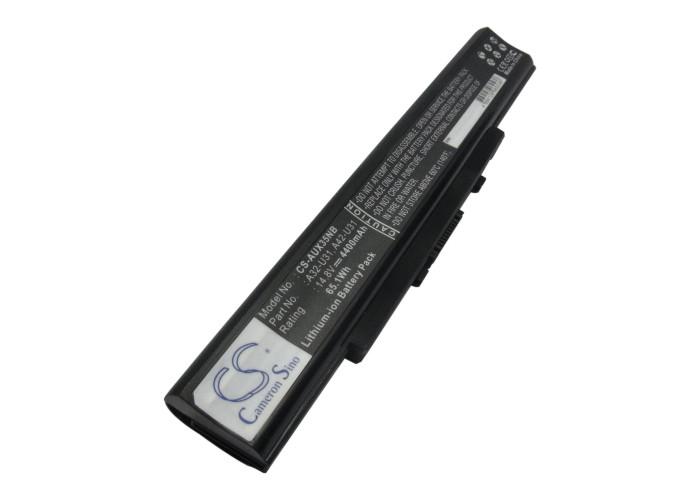Cameron Sino baterie do notebooků pro ASUS U41SV 14.8V Li-ion 4400mAh černá - neoriginální