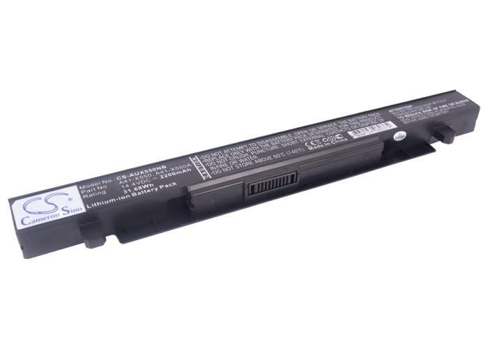 Cameron Sino baterie do notebooků pro ASUS X550CA 14.4V Li-ion 2200mAh černá - neoriginální