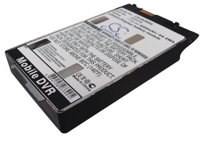 Cameron Sino baterie do mp3 přehrávačů pro ARCHOS 9 Tablet PC 7.4V Li-Polymer 6000mAh černá - neoriginální