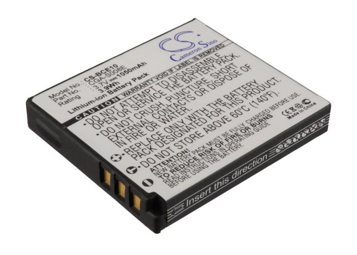 Cameron Sino baterie do kamer a fotoaparátů pro PANASONIC SDR-S10EB-K 3.7V Li-ion 1050mAh černá - neoriginální