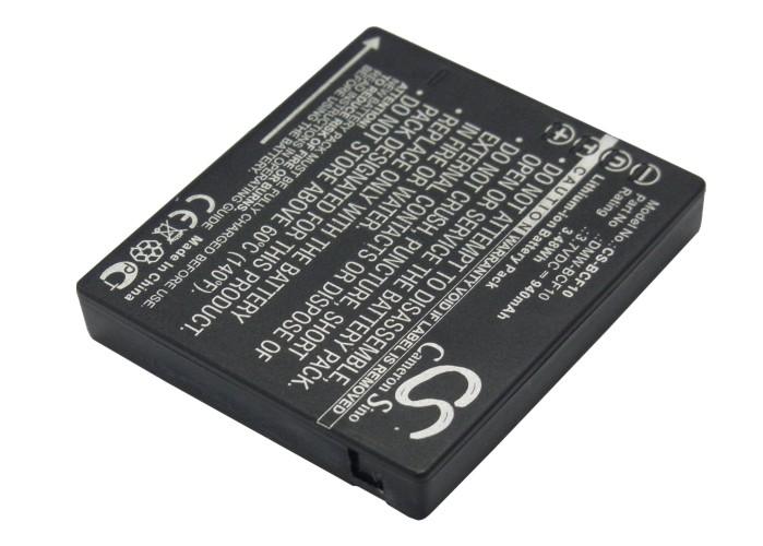Cameron Sino baterie do kamer a fotoaparátů pro PANASONIC Lumix DMC-FS10 3.7V Li-ion 940mAh černá - neoriginální