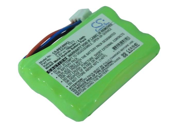 Cameron Sino baterie do bezdrátových telefonů pro BANG & OLUFSEN BeoCom 6000 3.6V Ni-MH 700mAh zelená - neoriginální