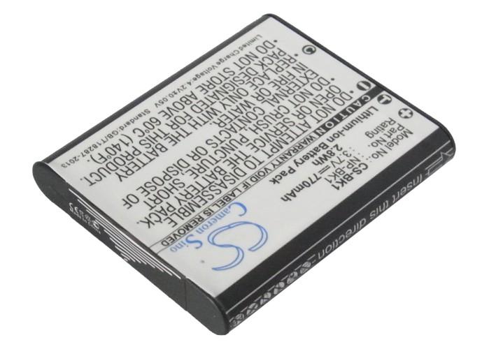 Cameron Sino baterie do kamer a fotoaparátů pro SONY Cyber-shot DSC-W180/R 3.7V Li-ion 770mAh černá - neoriginální