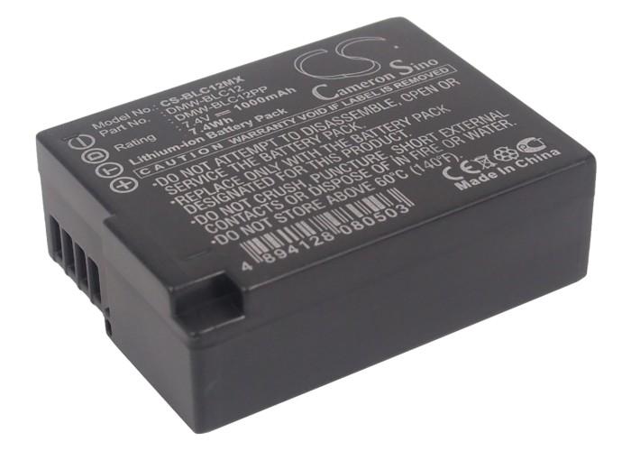 Cameron Sino baterie do kamer a fotoaparátů pro PANASONIC Lumix DMC-FZ200 7.4V Li-ion 1000mAh černá - neoriginální