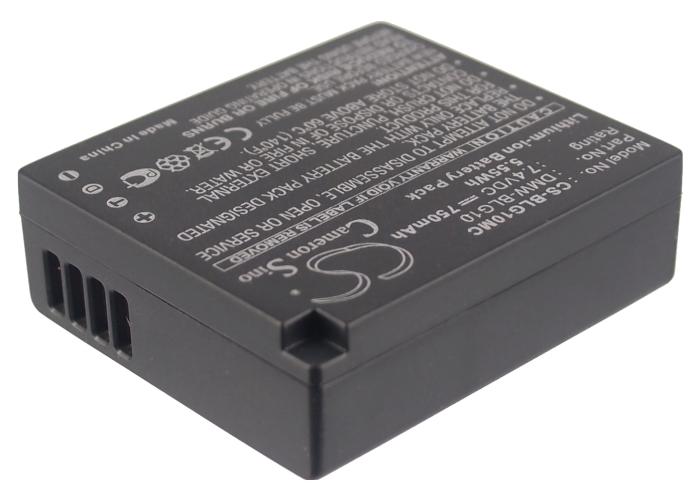 Cameron Sino baterie do kamer a fotoaparátů pro PANASONIC Lumix DMC-GX7 7.4V Li-ion 750mAh černá - neoriginální