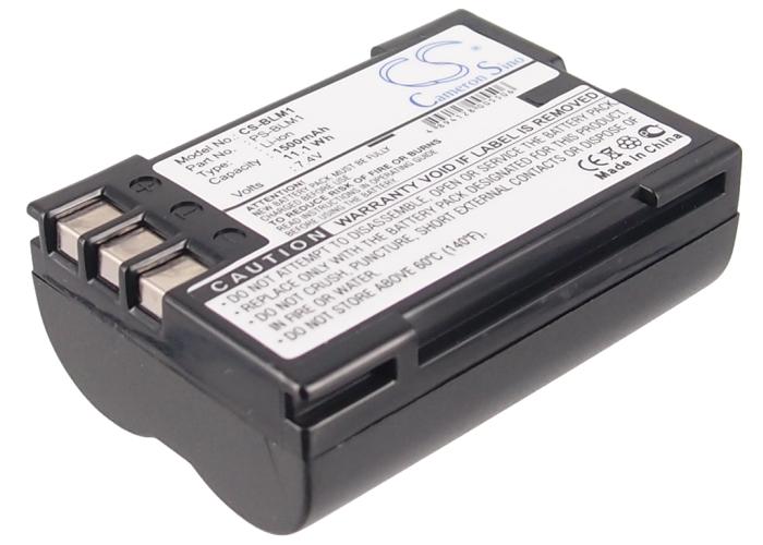 Cameron Sino baterie do kamer a fotoaparátů pro OLYMPUS Evolt E-300 7.4V Li-ion 1500mAh černá - neoriginální