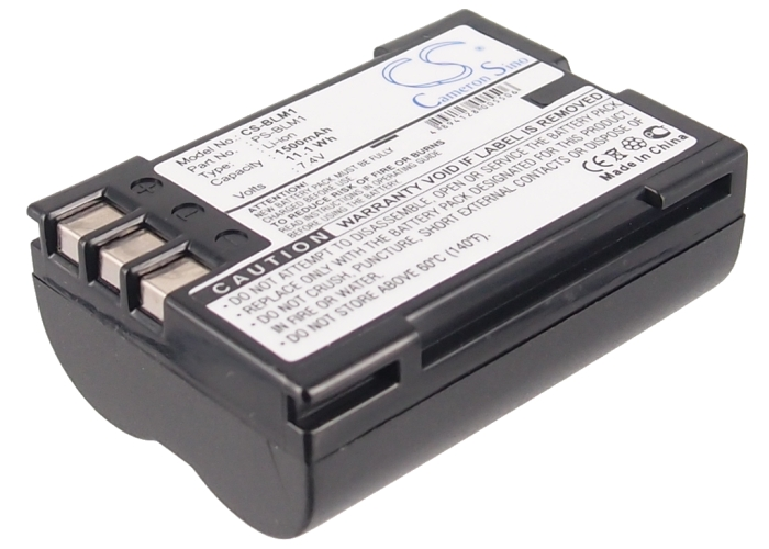 Cameron Sino baterie do kamer a fotoaparátů pro OLYMPUS Evolt E-500 7.4V Li-ion 1500mAh černá - neoriginální