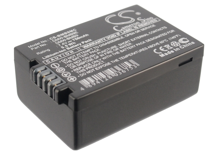 Cameron Sino baterie do kamer a fotoaparátů pro PANASONIC Lumix DMC-FZ100 7.4V Li-ion 750mAh černá - neoriginální