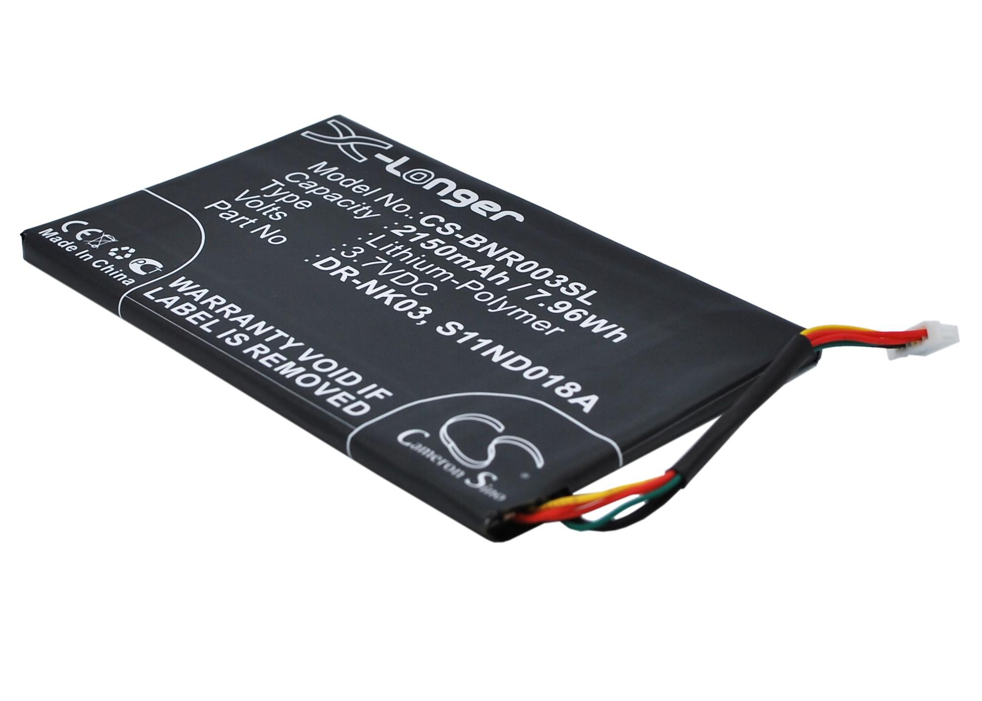 """Cameron Sino baterie do elektronických čteček knih pro BARNES & NOBLE Simple Touch 6"""" 3.7V Li-Polymer 2150mAh černá - neoriginální"""