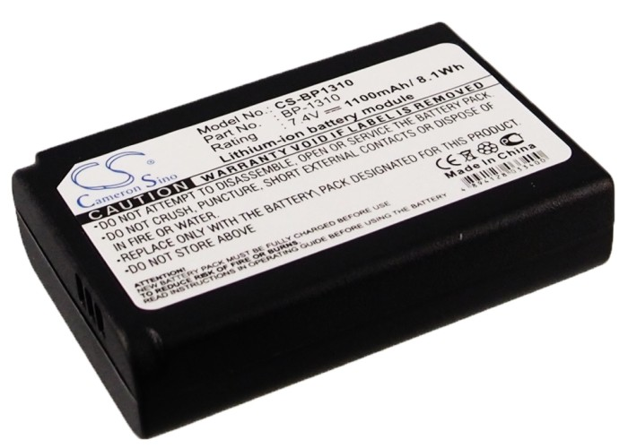 Cameron Sino baterie do kamer a fotoaparátů pro SAMSUNG NX100 7.4V Li-ion 1100mAh černá - neoriginální