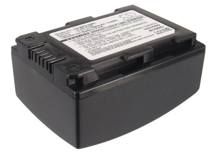 Cameron Sino baterie do kamer a fotoaparátů pro SAMSUNG HMX-H300 3.7V Li-ion 1800mAh černá - neoriginální